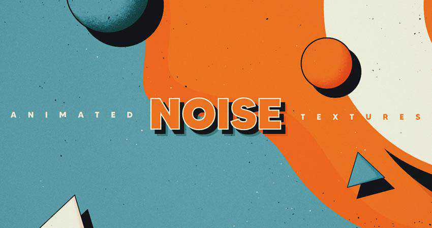Vintage Noise Animated free high-res textures