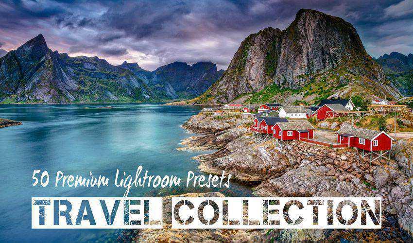 PRO Landscape and Travel Lightroom Presets