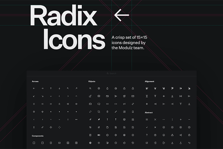 Example from Radix Icons