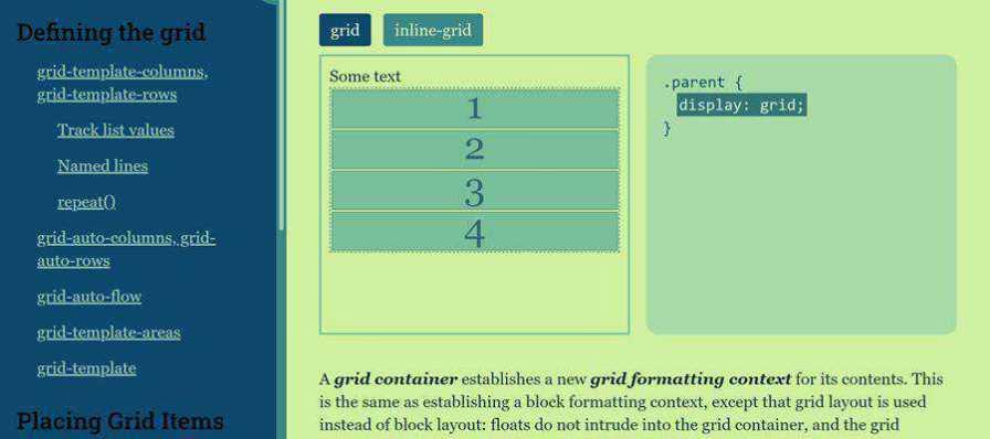 Example from Grid Cheatsheet