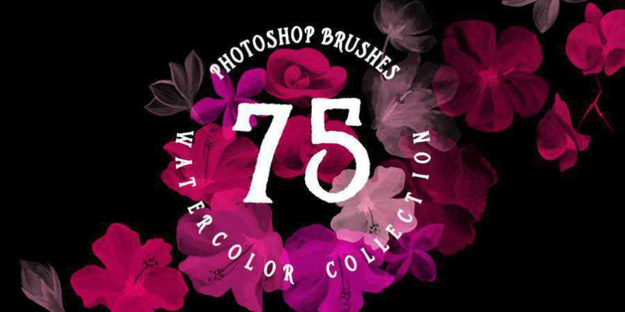 Photoshop Brushes Watercolor Collection ABR