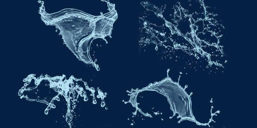 Water Splash Photoshop Brushes ABR