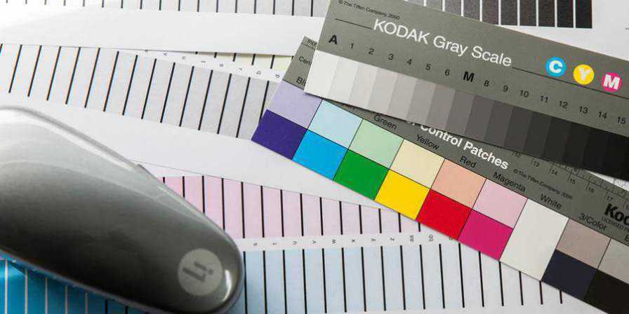 print tools color chart grey gray printer
