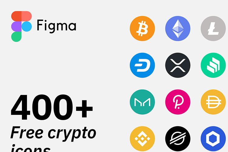 Example from Figma Crypto Icons