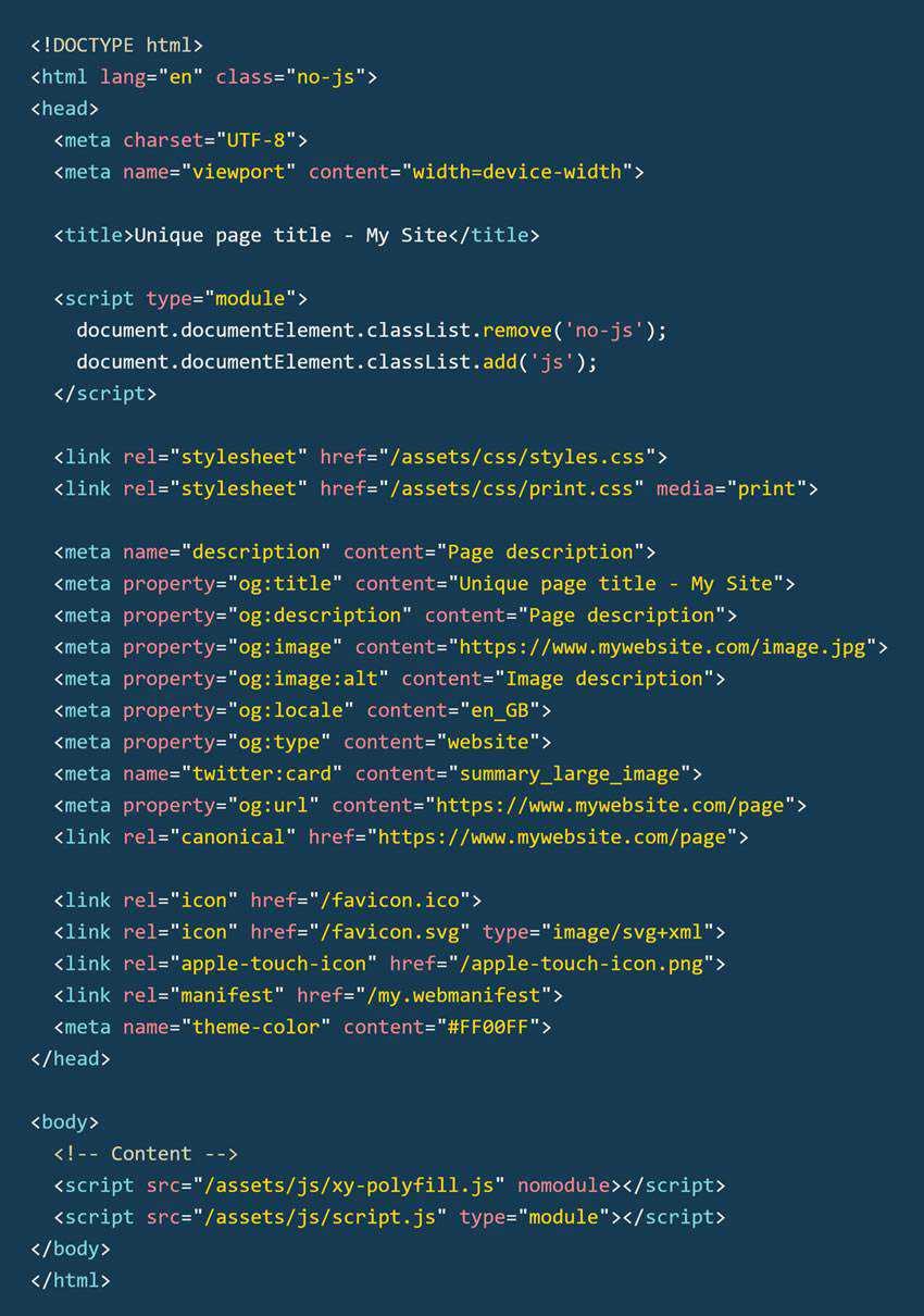HTML Boilerplate