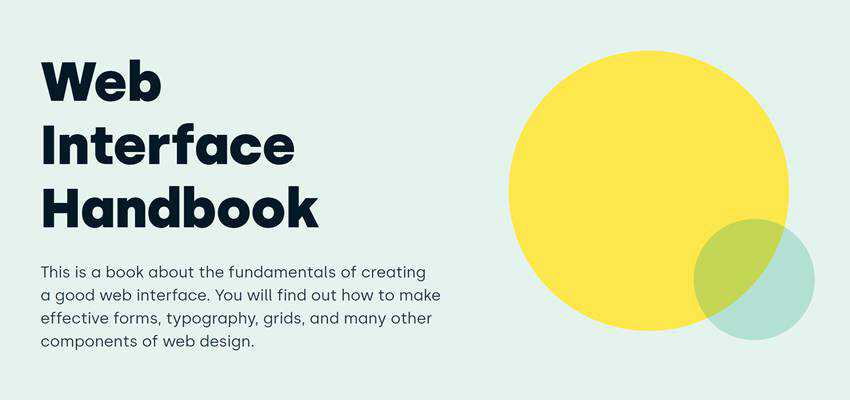 Web Interface Handbook