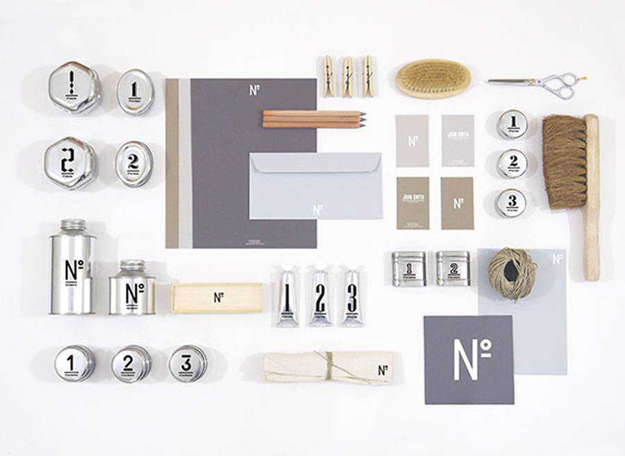 No Mens Skin Care brand identity design inspiration logo