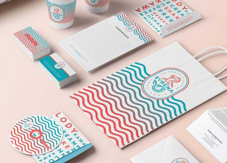 Syrena Branding brand identity design inspiration logo