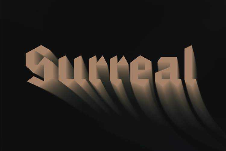 Example from: Creating a Typography Motion Trail Effect with Three.js