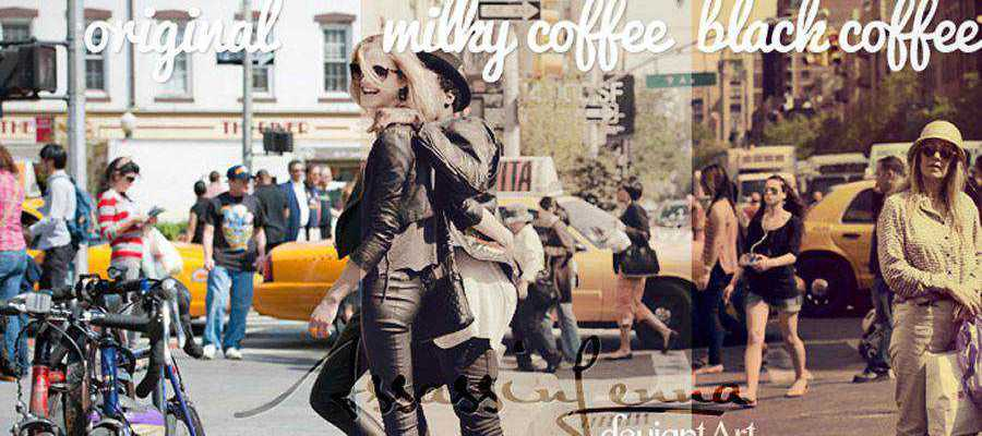 Coffee Cup vintage free photoshop action atn