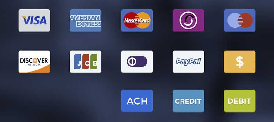 Free Payment Options Icons psd