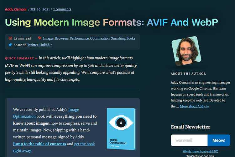 Example from Using Modern Image Formats: AVIF And WebP