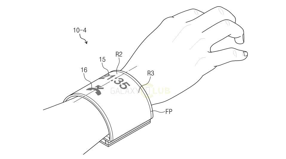 โชว์เหนือ !! Samsung จดสิทธิบัตรหน้าจอโค้งแบบยืดหยุ่นสูง