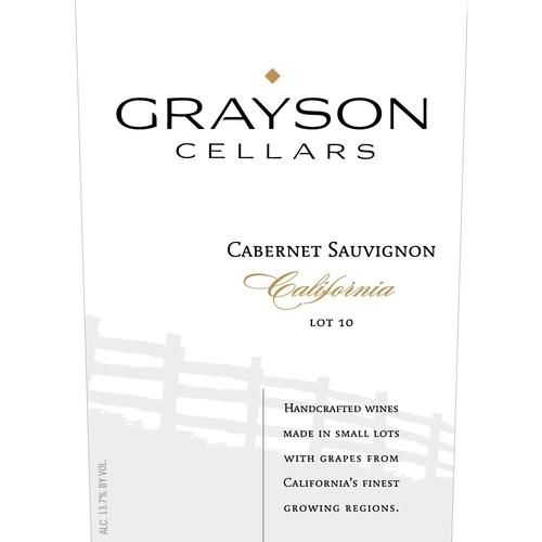 Grayson Cellars Lot 10 Cabernet Sauvignon