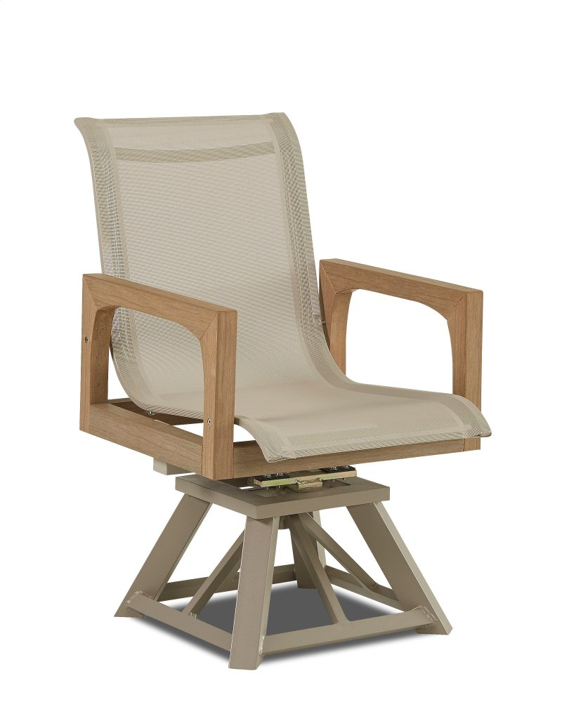 Swivel Rocking Chairs Delray Swivel Rocking Dining Chair
