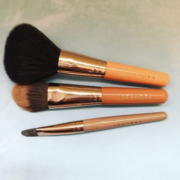 sephora collection travel brushes