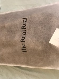 cloth bag from real real