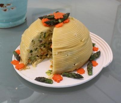 Cupola sliced