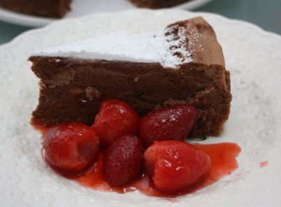 cheesecake with strawberries 2