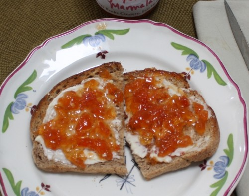 Marmalade on Toast closeup 2