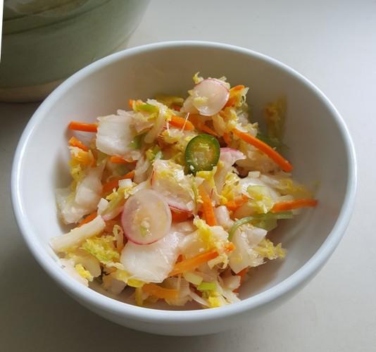 Summer kimchi 2