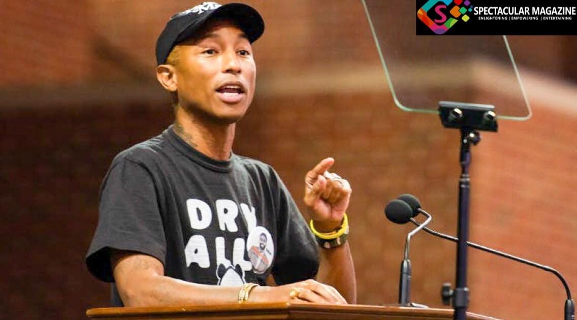 Pharrell Blesses Over 100 Harlem Students With Internships -