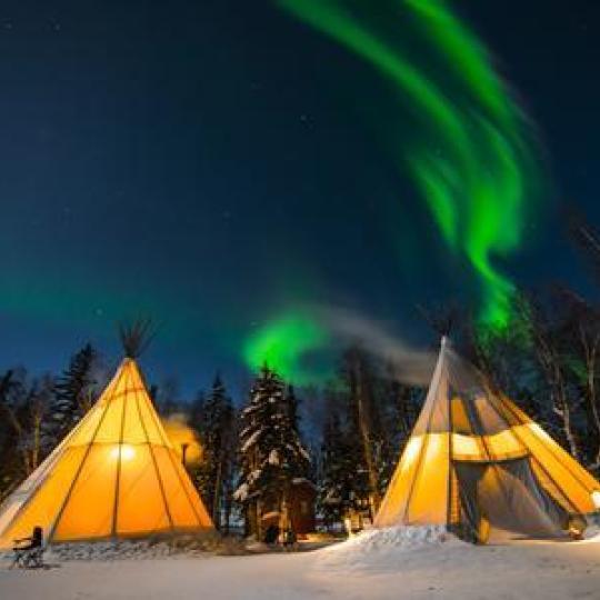 aurora spectacular northwest territories