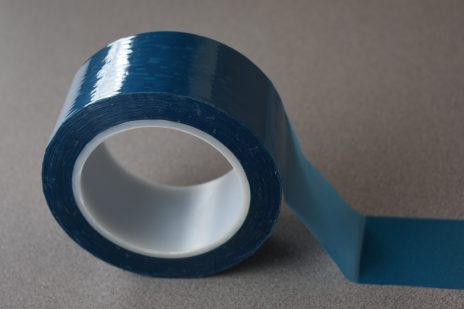 Double coated PET film – aqueous acrylic adhesive