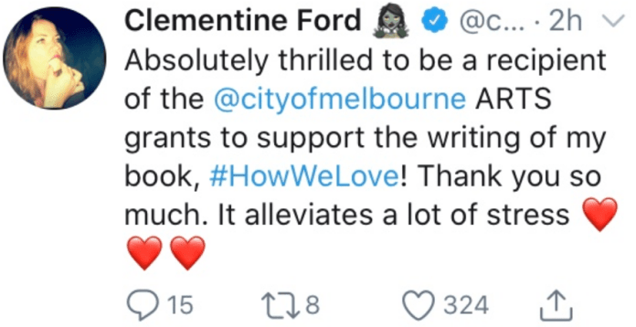 Government to fund clementine ford