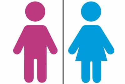 The two traditionally recognized genders.