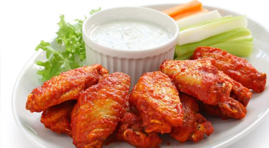 appetizer chicken wings