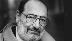 Author Umberto Eco.
