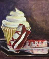 "Sweets!, Acrylic on Canvas, 8"" x 10"""