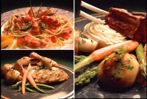 Various Food Plates