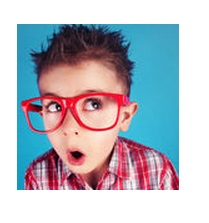 Child wearing glasses used to illustrate autism blog