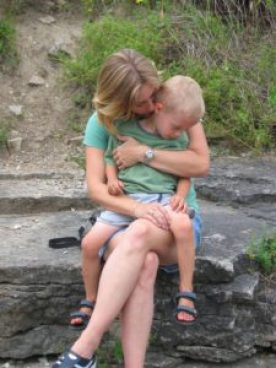 Mother and son - illustrating an article stating - If you are the parent of a child that you think may be on the autistic spectrum, you will almost definitely get asked the question: 'But why would you want to give him or her a label?'