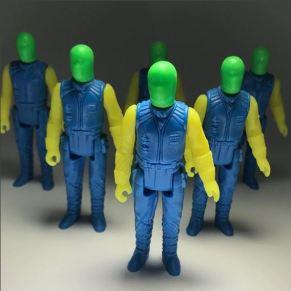 Green Plastic Tunnels
