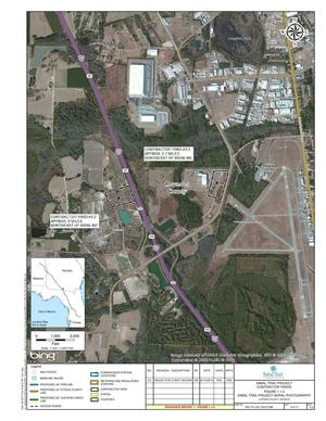 300x388 Lowndes County, GA, next to Valdosta Airport, in Sabal Trail Contractor Yards aerial maps, by John S. Quarterman, for SpectraBusters.org, 20 February 2015