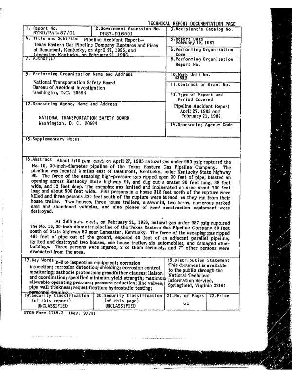 600x776 Abstract, in Texas Eastern Gas Pipeline Company Ruptures and Fires, by John S. Quarterman, for SpectraBusters.org, 18 February 1987