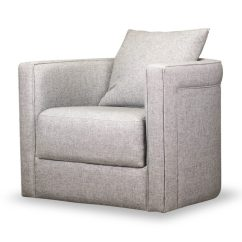 Small Swivel Chair What Is The Best Height For A Rail Adrian Durbin Light Gray Spectra Home Furniture