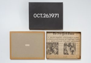 On Kawara Today