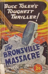 TOLER The Bronsville Massacre 1ST EDITION due to cover price