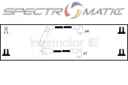 SPECTROMATIC LTD: 73738 ignition cable leads kit