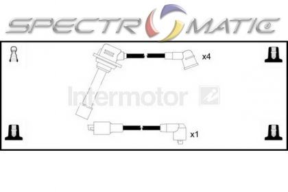 SPECTROMATIC LTD: 73813 ignition cable leads kit MAZDA 626