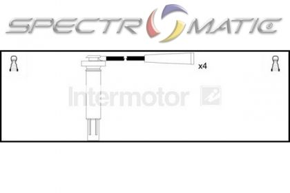 76270 ignition cable kit SUBARU FORESTER SG 2.0 2.5 EJ20