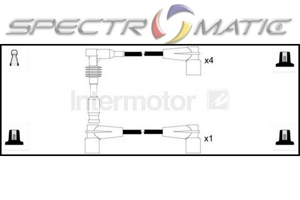 73802/73318/ ignition cable leads kit OPEL ASTRA CALIBRA