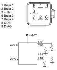 SPECTROMATIC LTD: BED/7-12-relay glow plug system 7700115078