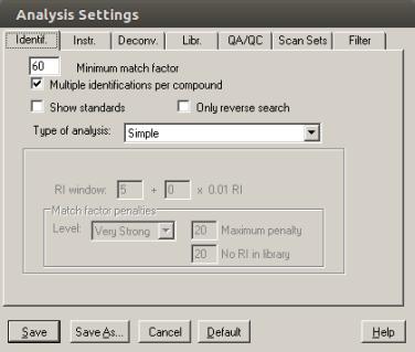 amdis-analysis-settings