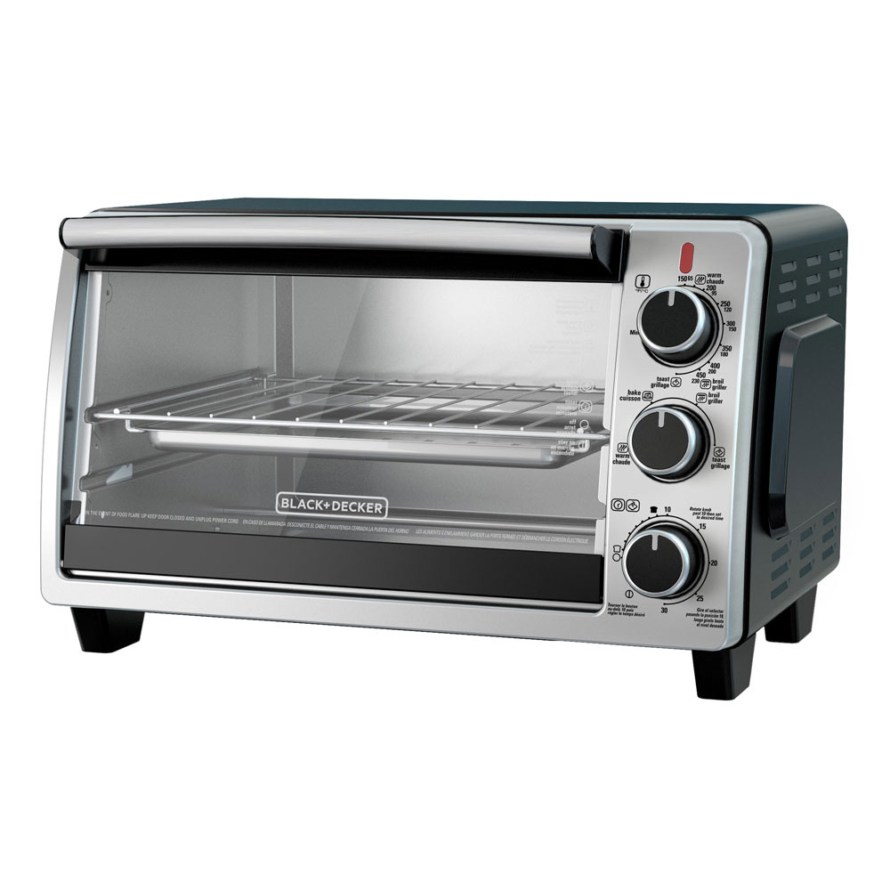 6 slice convection oven stainless steel