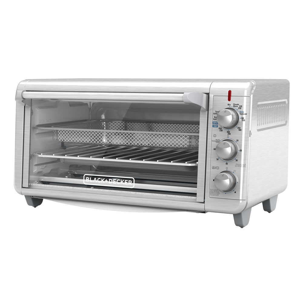 extra wide crisp n bake air fry toaster oven